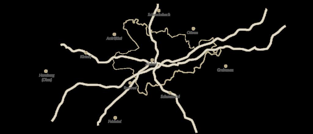 Im Trauerfall sind wir rund um Alsfeld 24 Stunden für Sie da – auch in Homberg (Ohm), Feldatal, Romrod, Schwalmtal, Kirtorf, Antrifttal, Grebenau, Ottrau oder Schrecksbach.